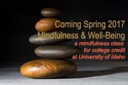 Mindfulness Class at University of Idaho